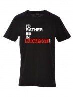 Id rather be in Budapest T-shirt Men